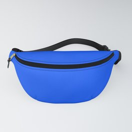 Tropical Blue Solid Color Fanny Pack