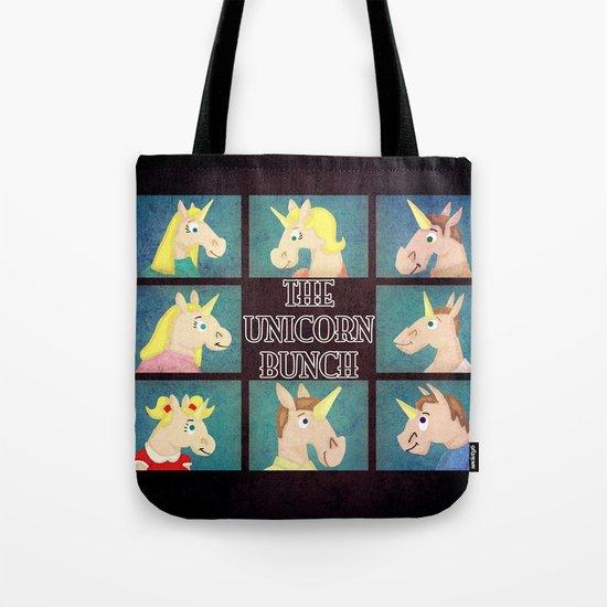 The Unicorn Bunch Tote Bag