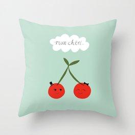 Mon Cherie Throw Pillow