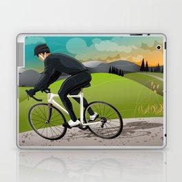 Road Cyclist Laptop & iPad Skin