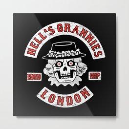 Hell's Grannies 1969 Metal Print