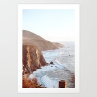 big sur Art Prints featuring Big Sur by David Ray