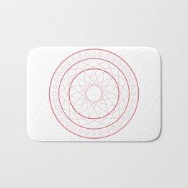Anime Magic Circle 5 Bath Mat