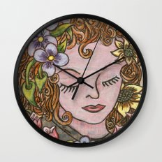 Dreaming Wall Clock