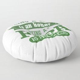 BEING A PAPA Floor Pillow