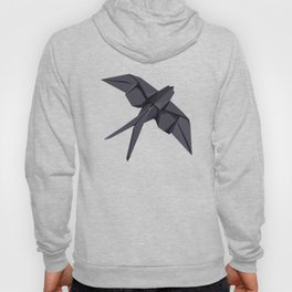 Origami Swallow Hoody
