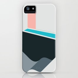 River / Land-Escape CO-VID-19 iPhone Case