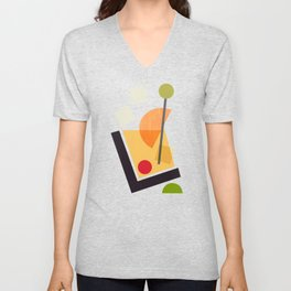 Cocktail III Old Fashioned Unisex V-Neck
