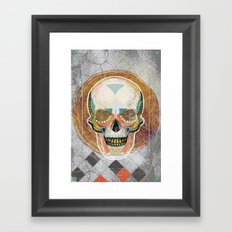 Another Skull Framed Art Print