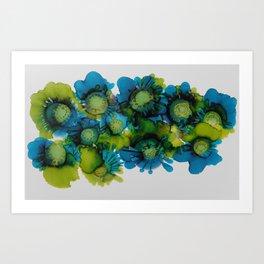 Sea Blooms Art Print