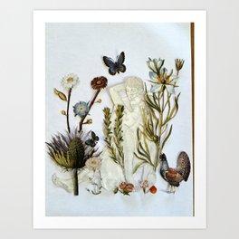 Gardening and Other Euphemisms Art Print