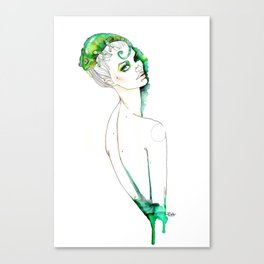 Camaleonte Canvas Print