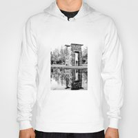 madrid Hoodies featuring Madrid reflections by PabloEgM