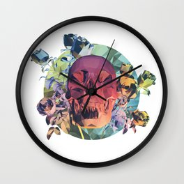 Low Poly Death Wall Clock
