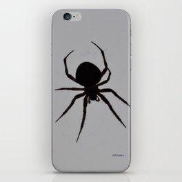Orb Weaver Silhouette iPhone Skin