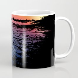 Silhouettes in the Desert Coffee Mug