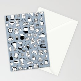 Breakfast Things Stationery Cards