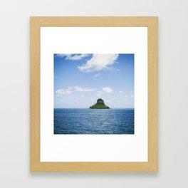 Mokolii Island Straight Ahead Framed Art Print