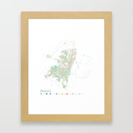 Bogota Framed Art Print