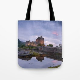 The Castle on the Lake Tote Bag