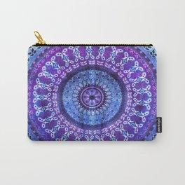 Hydrangea Mandala Carry-All Pouch
