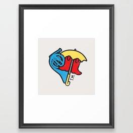 Hey Beautiful Framed Art Print