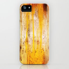 The Sun Is Dripping Down iPhone Case