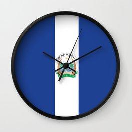 Flag of Abidjan Wall Clock