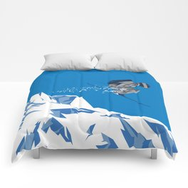 Ski Jump Comforters