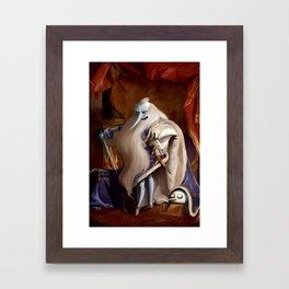 Hail the King Framed Art Print