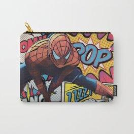 Spider man Comic Portrait Legendary Memories Best Movie Ever Carry-All Pouch