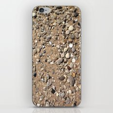 Rocks in Sand Color Nature Photo iPhone & iPod Skin