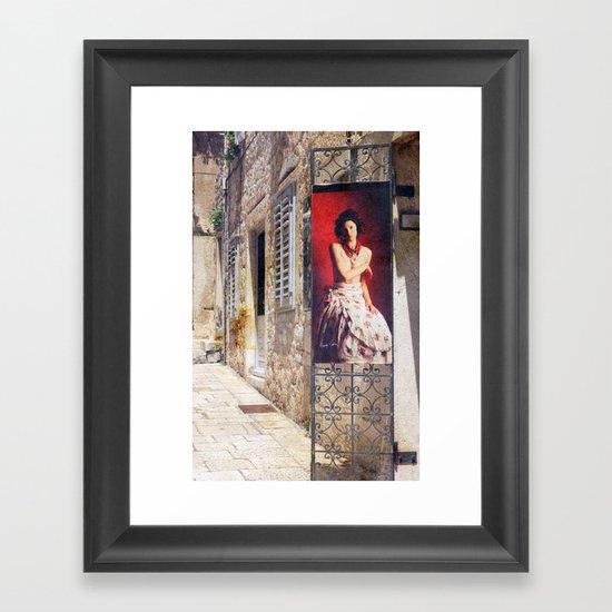 La Boutique Framed Art Print