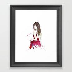 Don't Look Now Framed Art Print