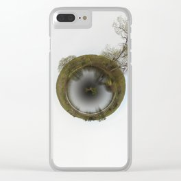 tree planet Clear iPhone Case