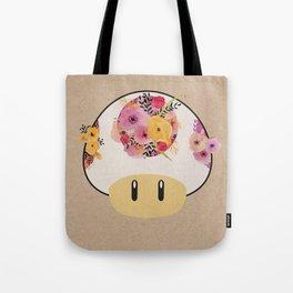 Mushroom in Bloom Tote Bag