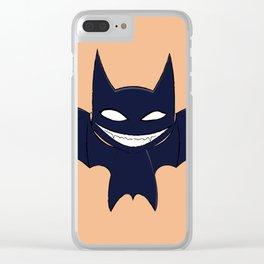 Vampire Bat Clear iPhone Case
