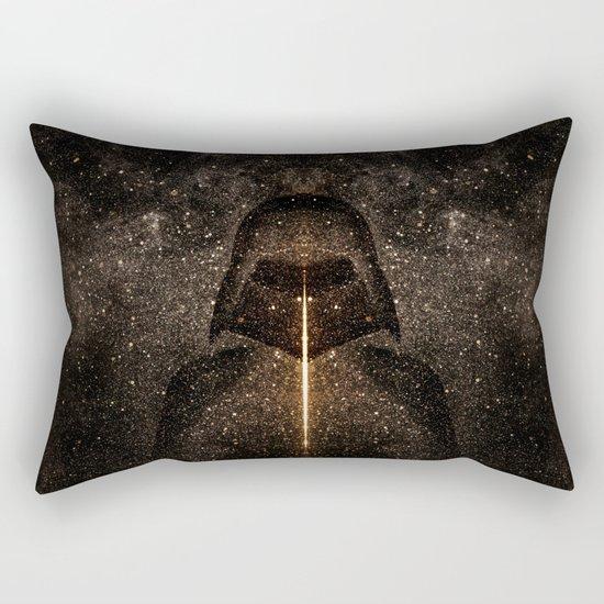 Force of light through the dark side Rectangular Pillow