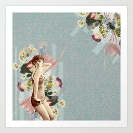 Feminine Collage III Art Print