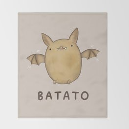 Batato Throw Blanket