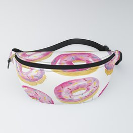 Watercolor Donuts Fanny Pack