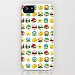 POWER UPS iPhone Case