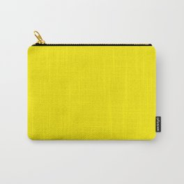 Aureolin - solid color Carry-All Pouch