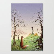 The Fox's Tower Canvas Print