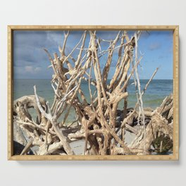 Driftwood Sculpture Cayo Costa Serving Tray