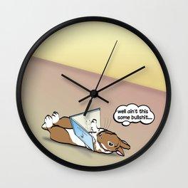 READING IS FUN! Wall Clock