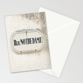 Rue Notredame Stationery Cards