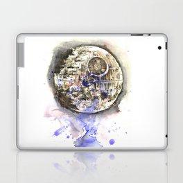 Star War Art Painting The Death Star Laptop & iPad Skin