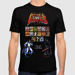 Heroes Vs Villains T-shirt