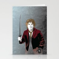 the hobbit Stationery Cards featuring Hobbit by Digital Sketch